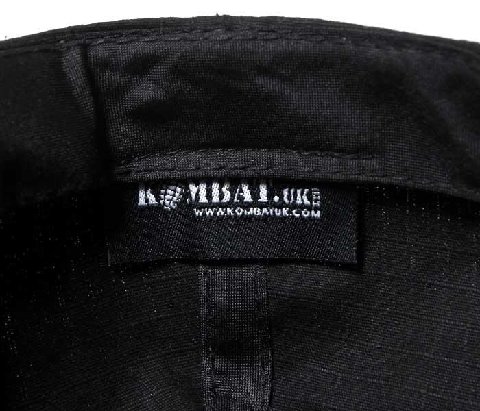 デッドストック DEADSTOCK BRITISH ARMY イギリス軍 ベースボールキャップ ブラック リップストップ KOMBAT UK社製 OPERATORS BASEBALL CAP (OPERATORS-BBCAP-BLACK)