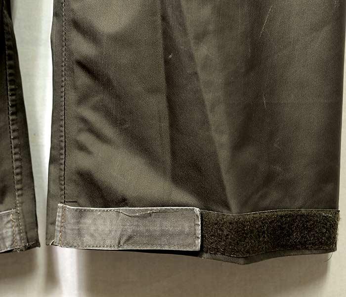 [送料無料]ユーズド/USED ドイツ軍 ゴアテックスパンツ 1980年代 GERMANY ARMY GORE-TEX PANTS 1980s (GERMAN-GORETEX-PT1-4850)
