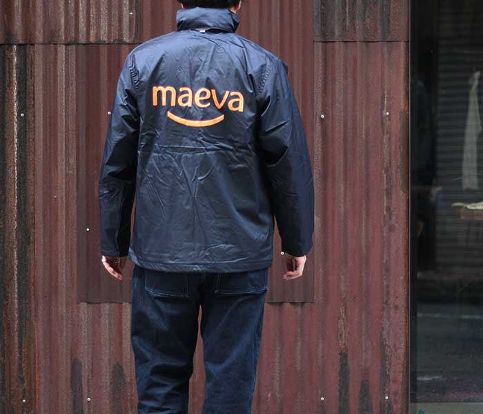 デッドストック DEADSTOCK maeva マエヴァ コーチジャケット ナイロンジャケット B&C COLLECTION フランス (FRENCH-MAEVA-COACH-JKT)