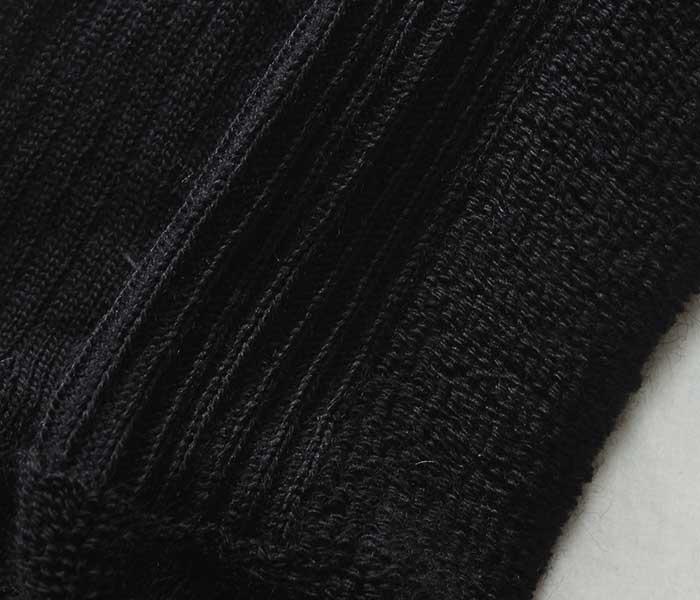 BRITISH ARMY イギリス軍 ブラック ウールソックス ブーツソックス 靴下 (UK-SOCKS-WOOLNYLON-BLACK)