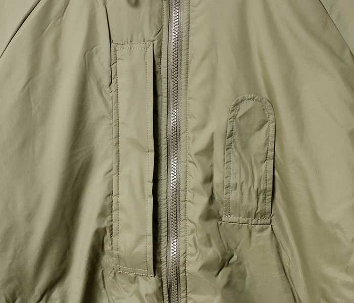 BRITISH ARMY イギリス軍 PCS 中綿 サーマルジャケット パーカー パッカブル JACKET THERMAL With Integral Stuff Bag PCU (JACKET-THERMAL-INTEGRAL-PCS)