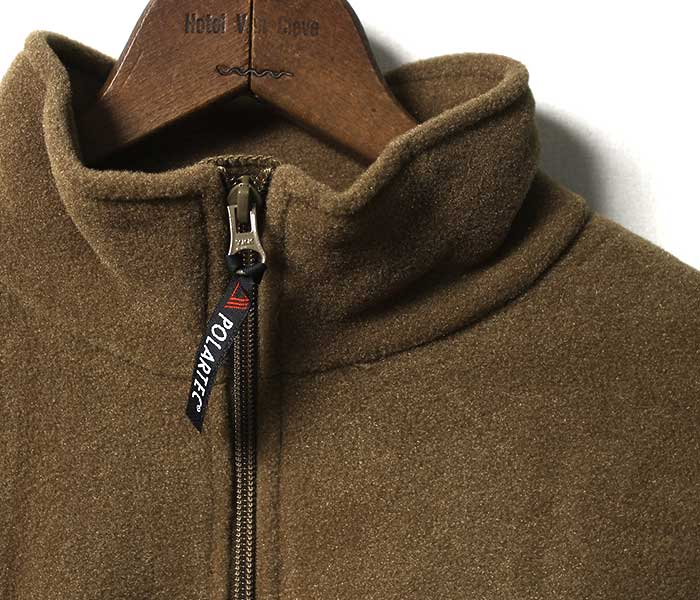 デッドストック DEADSTOCK アメリカ製 米軍 USMC フリース プルオーバー PULL OVER PORLARTEC FLEECE JACKET COYOTE (USMC-PULLOVER-FLEECE-CYT)