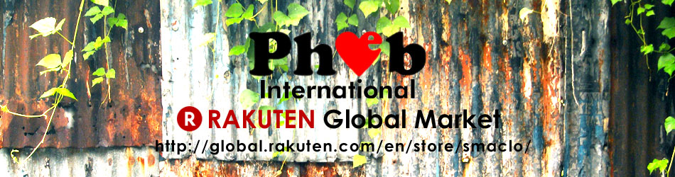 Pheb International RAKUTEN We were Smart Clothing Store by Pherrow's before