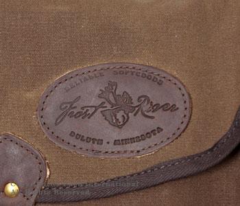 フロストリバー/FROST RIVER アメリカ製ワックスドコットンラージシェルバッグ(ショルダーバッグ) 【FR-562】[送料無料]