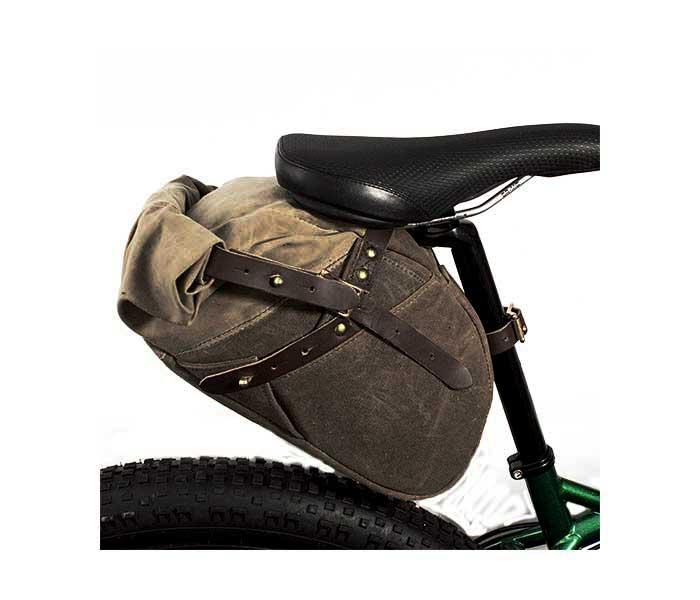 フロストリバー FROST RIVER ロールトップ バイクバッグ ワックスドコットン WAKEMUP ROLLTOP BIKE BAG MADE IN USA (FR-386)