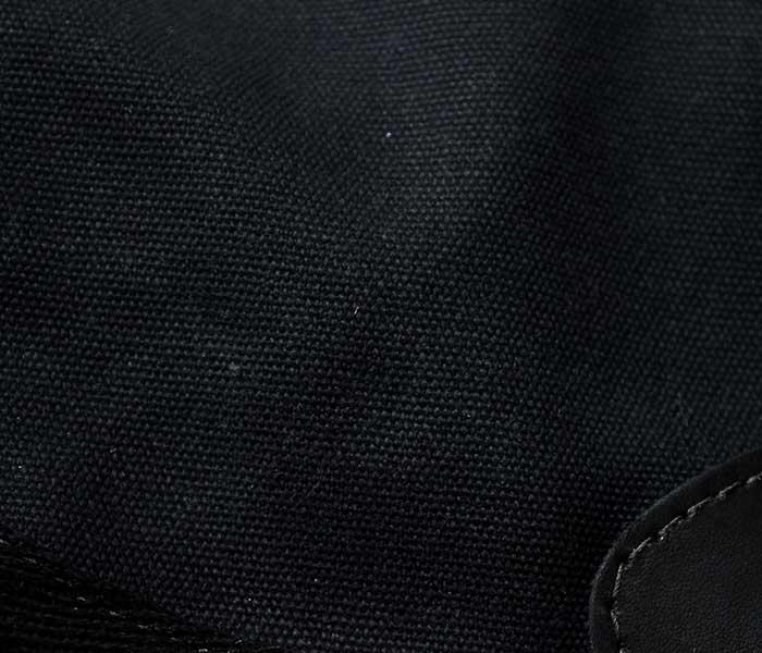 フロストリバー FROST RIVER アメリカ製 ショルダーバッグ ''ミディアム'' ブラック ワックスドコットン シェルバッグ (FR-561N-BLK-MED)