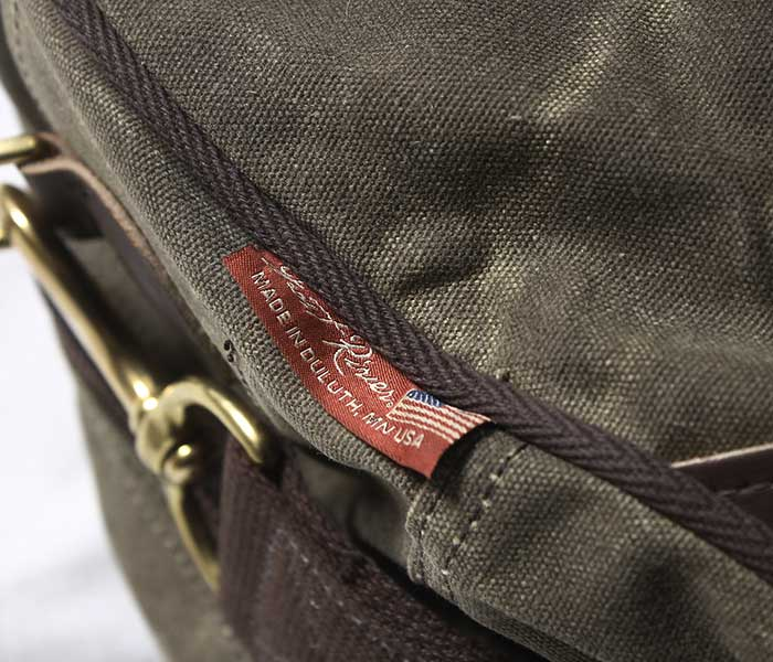 フロストリバー FROST RIVER フライトバッグ ミニ ワックスドコットン バッグ Flight Bag Mini made in USA (FR-653)