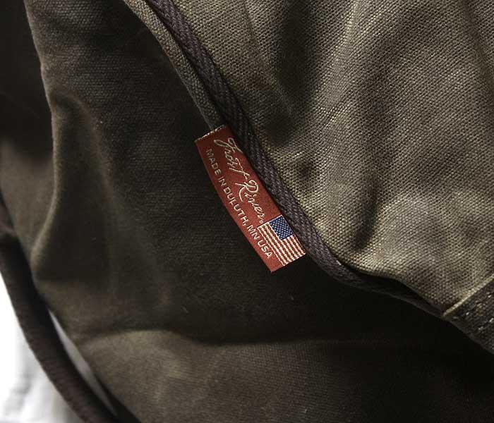 フロストリバー FROST RIVER ダッフルバッグ インアウトバッグ ドラムバッグ ワックスドコットン バッグ LARGE Imout Bag Round Duffle made in USA (FR-690)