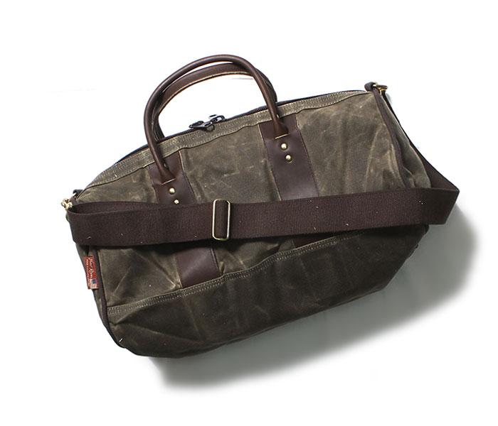フロストリバー FROST RIVER ダッフルバッグ インアウトバッグ ドラムバッグ ワックスドコットン バッグ SMALL Imout Bag Round Duffle made in USA (FR-691)