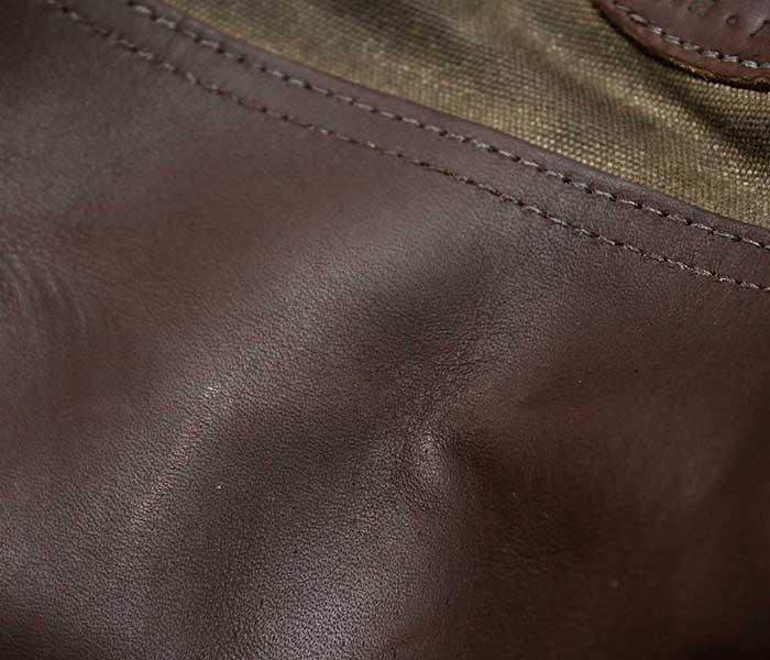 フロストリバー FROST RIVER アメリカ製 トートバッグ ''スモール'' プレミアム レイク ミシガン トート ワックスキャンバス レザー (FR-857-SML)
