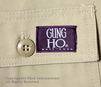 ガンホー/GUNG HO アメリカ製''6ポケット''ユーティリティパンツ/カーゴパンツ【GUNG-6PK FATIGUE】