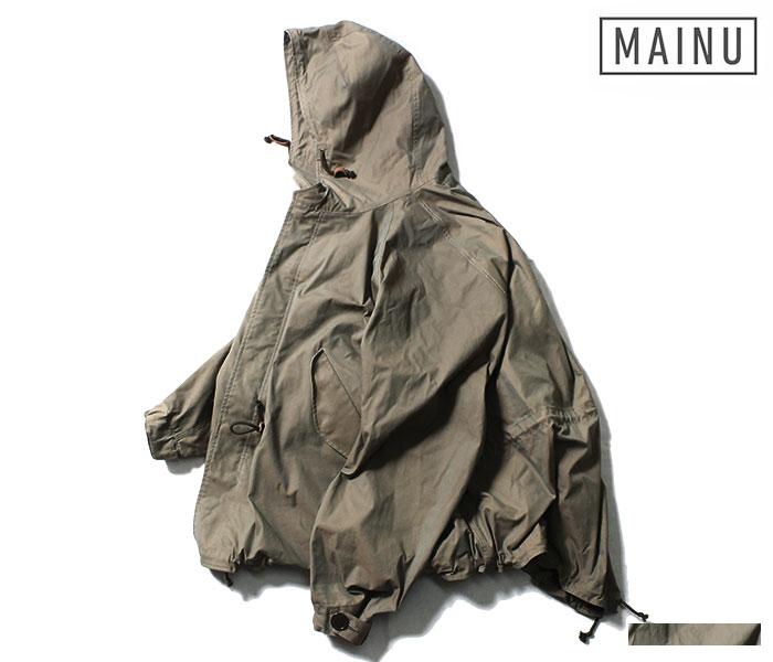 マイヌ/MAINU 日本製 バーバリークロス エマージェンシー M-51 パーカー ジャケット ギャバジン c/p Emergency M-51 Parka 2018AW (MAINU-361802)