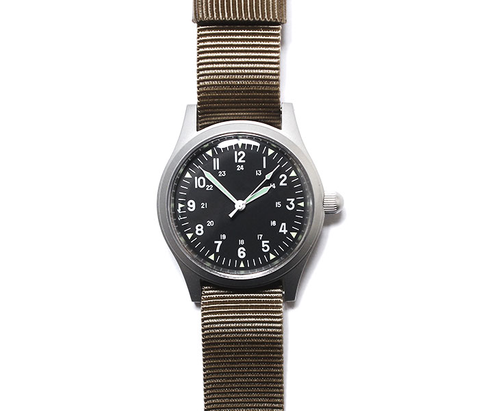 MWC Military Watch Company ドイツ製 ミリタリーウォッチ 腕時計 自動巻き サンド GG-W-113 (Automatic) Classic Range Mechanical Watch (GG-W-113-AUTOMATIC)