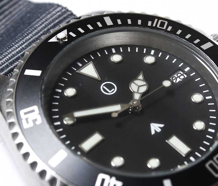 MWC Military Watch Company ドイツ製 ミリタリーウォッチ サブマリーナ ダイバーズウォッチ 腕時計 自動巻き グレー SUB/SS/ST/A MWC Special Diver Watch Automatic (SUB-SS-ST-A)