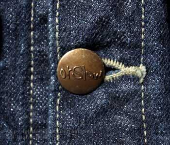オアスロウ(オアスロー)/orSlow ''ワンウォッシュ''ジョンズデニムジャケット【01-6006-81】