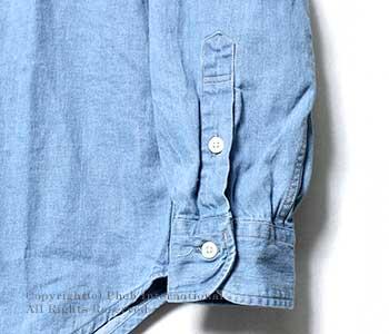 オアスロウ(オアスロー)/orSlow 日本製 ''ブリーチ''ボタンダウンシャツ(01-8012-99-BLEACH)