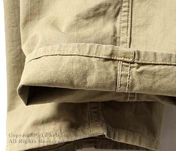 [送料無料]オアスロウ(オアスロー)/orSlow 日本製 ''チノカーキ''フレンチワークパンツ (03-5000-40)