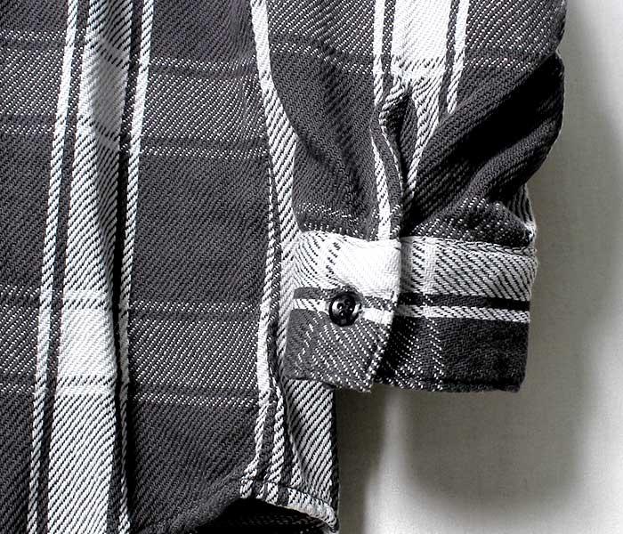 オアスロウ(オアスロー)/orSlow 日本製 ヴィンテージフィット フランネルシャツ(03-V8072-161)