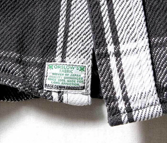 [送料無料]オアスロウ(オアスロー)/orSlow ''インディゴチェック''70'sワークシャツ(01-8072-164)