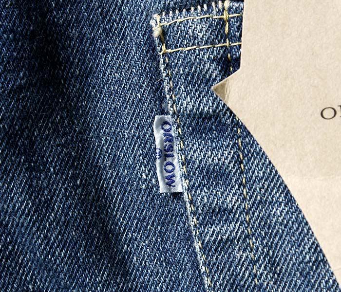 [送料無料]オアスロウ(オアスロー)/orSlow 日本製 ''2year wash'' アイビーフィット ジーンズ デニム (01-0107-84)