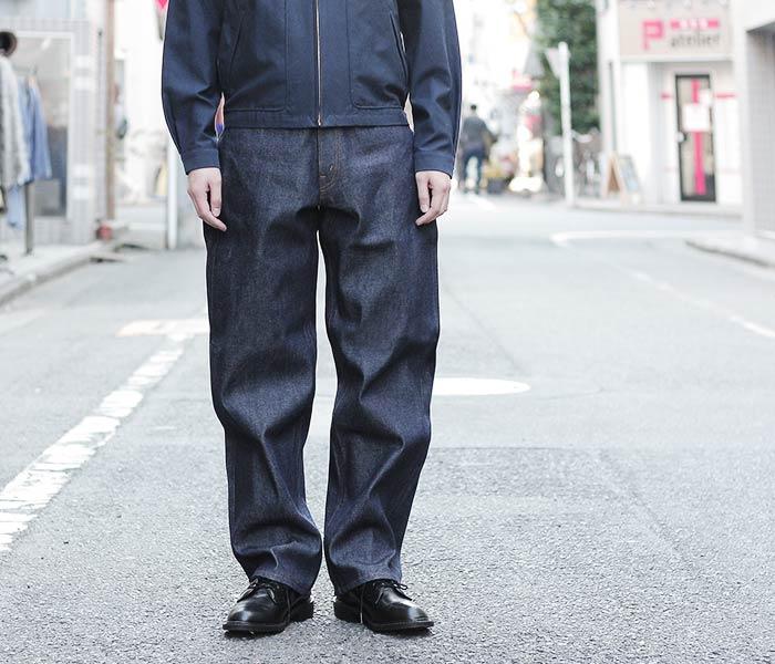 [送料無料]オアスロウ(オアスロー)/orSlow 日本製 ''リジット'' ダッズデニム DAD'S DENIM ジーンズ デニム (01-1010-80)