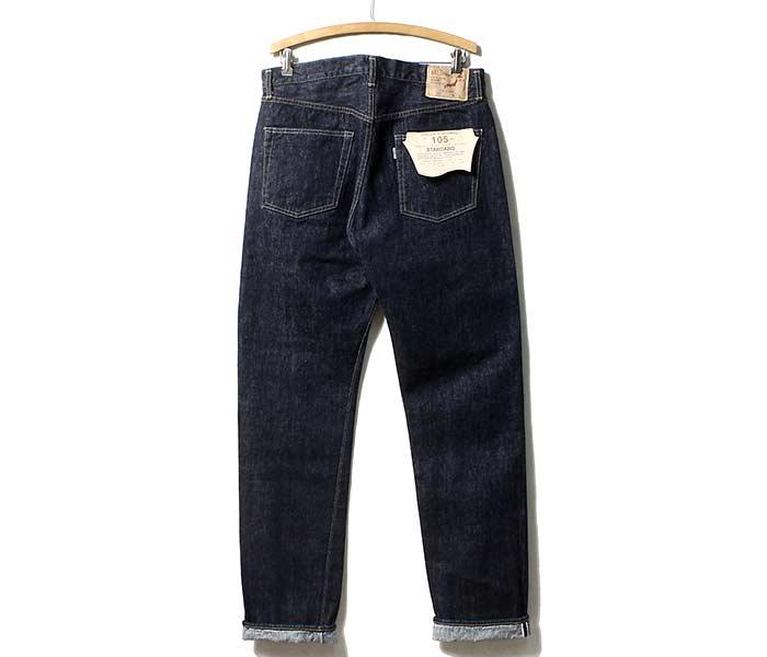 [送料無料]オアスロウ(オアスロー)/orSlow 日本製 ''one wash'' オリジナルスタンダード 5ポケットジーンズ デニム (01-1050-81)