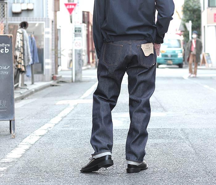 [送料無料]オアスロウ(オアスロー)/orSlow 日本製 ''リジット'' 90s スタンダード 5ポケットジーンズ デニム 90s STANDARD DENIM (01-1050-81)