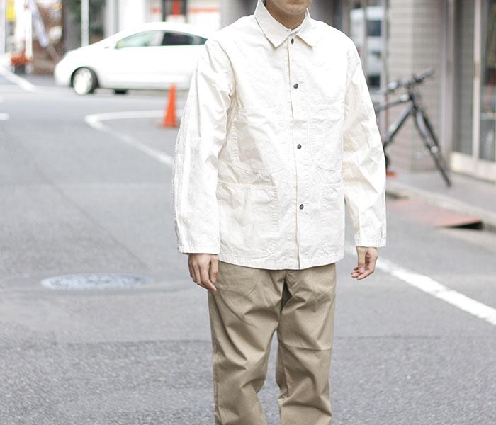 [送料無料]オアスロウ(オアスロー)/orSlow 日本製 ユーティリティ カバーオール (01-6130)