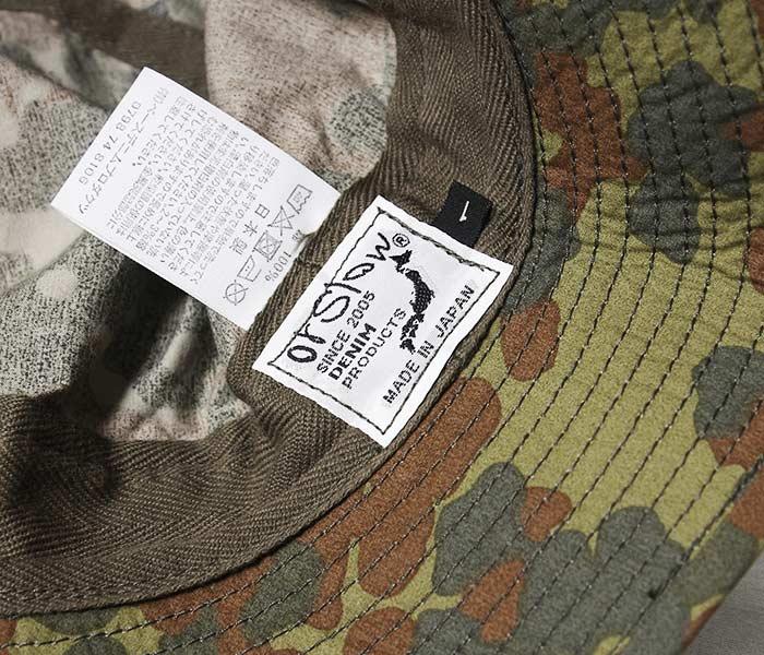 オアスロウ オアスロー orSlow 日本製 ドットカモ ジャーマンカモ ネイビー ハット U.S.NAVY HAT メンズ レディース (03--001-GC)