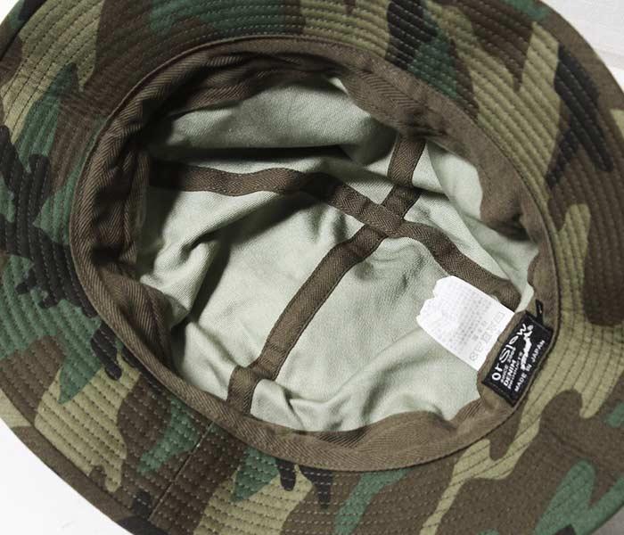 オアスロウ オアスロー orSlow 日本製 ウッドランドカモ ネイビー ハット U.S.NAVY HAT メンズ レディース (03--001-GC)
