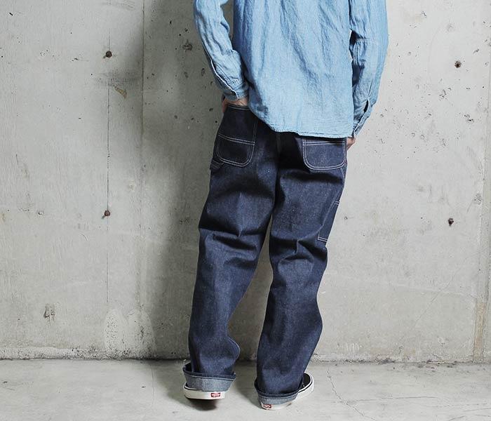 [送料無料]オアスロウ(オアスロー)/orSlow 日本製 リジッドデニム ペインターパンツ PAINTER PANTS (03-5127-80)