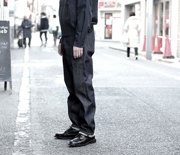 orSlow オアスロウ 日本製 ''リジット'' スタンダード デニム ジーンズ 5ポケット 90s STANDARD DENIM 105 (01-1050W-80)