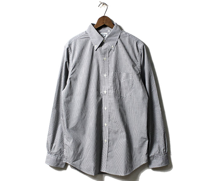 orSlow オアスロウ 日本製 ボタンダウンシャツ ギンガムチェック ノンウォッシュ BUTTON DOWN SHIRTS (01-8012-40)