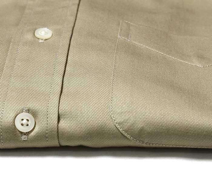 orSlow オアスロウ チノツイル 半袖 ボタンダウンシャツ 2019SS SHORT SLEEVED B.D. SHIRT MADE IN JAPAN 01-8022 (01-8022-40)