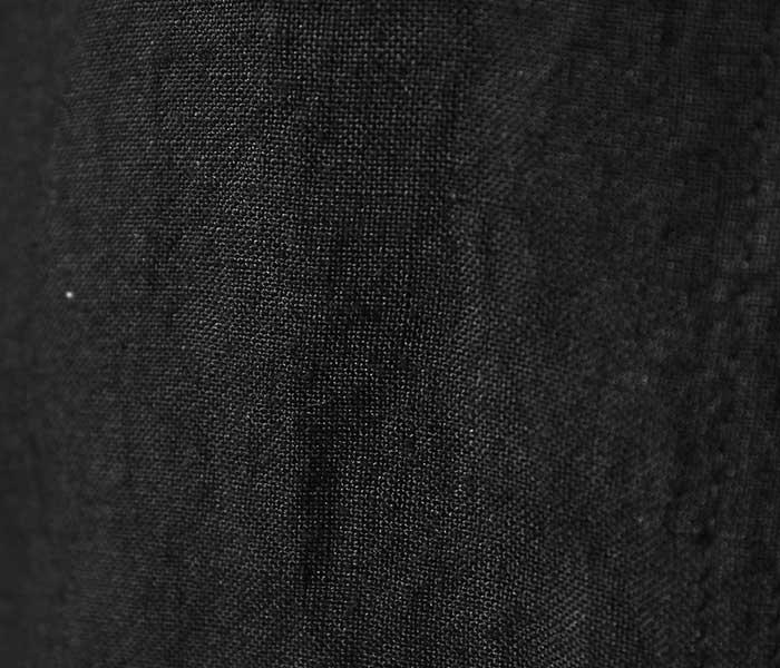 orSlow オアスロウ 日本製 ブラックリネン カンフー ジャケット ルーズフィット 2019SS KUNG FU JK UNISEX LOOSE FIT (03-6013-61)