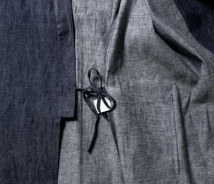 orSlow オアスロウ 日本製 リジッドデニム 作務衣 キモノジャケット 2019SS TAKUMI UNISEX (03-6014-80)