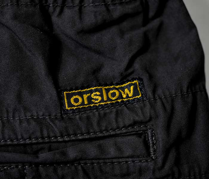 orSlow オアスロウ タイプライター ニューヨーカー イージーショーツ ショートパンツ 2019SS NEWYORKER SHORTS UNISEX MADE IN JAPAN (03-7022-TYPEWRITER)