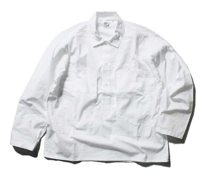 orSlow オアスロウ 日本製 ホワイトシャンブレー U.S.ARMY プルオーバー シャツジャケット 2019SS PW PULLOVER SHIRT JK UNSEX 03-8041 (03-8041-69)
