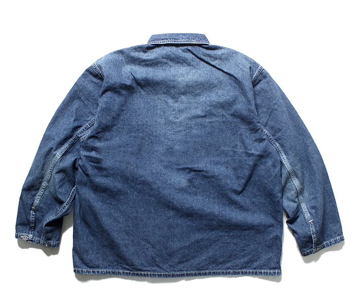 orSlow オアスロウ 日本製 デニムユーズド U.S.ARMY プルオーバー シャツジャケット 2019SS PW PULLOVER SHIRT JK UNSEX 03-8041 (03-8041-95)