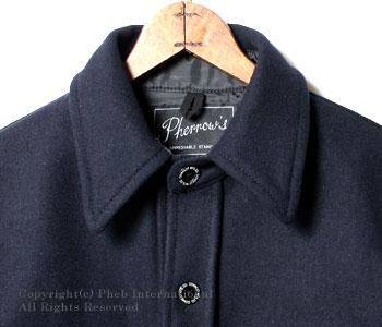 [送料無料]フェローズ/PHERROW'S(PHERROWS) ウールCPOシャツジャケット(P-CPO)