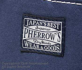 [送料無料]フェローズ/PHERROW'S(PHERROWS) 日本製 キャンバストートバッグ(PTBG2)