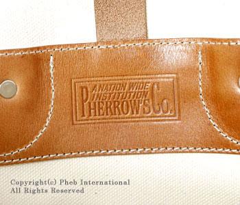 フェローズ/PHERROW'S(PHERROWS)キャンバスメールバッグ【PMBG1】
