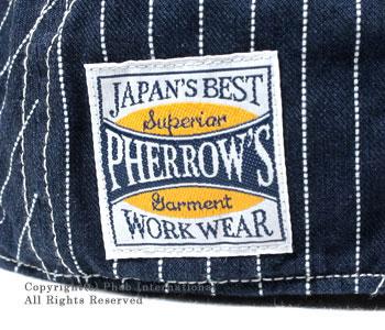 フェローズ/PHERROW'(PHERROWS) 日本製 ''ウォバッシュ''ハンチングキャップ(SHC1-W)