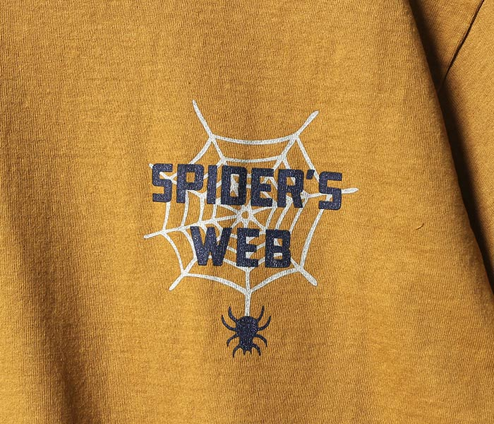 フェローズ/PHERROW'S(PHERROWS) SPIDER'S WEB Tシャツ プリントT (18MS-PT13)
