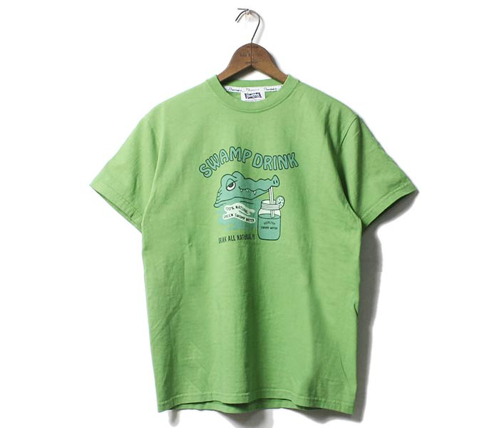 フェローズ/PHERROW'S(PHERROWS) SWAMP DRINK Tシャツ プリントT (18S-PT6)