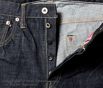 フェローズ/PHERROW'S(PHERROWS) オリジナルストレートジーンズ【421:スターチドウォッシュ(ワンウォッシュ)】 [送料無料]
