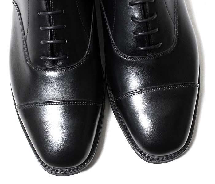 サンダース SANDERS 英国製 ShoeS キャップトゥ オックスフォード シューズ レザーシューズ 145周年 記念モデル CAP TPE OXFORD (1846-BLACK)