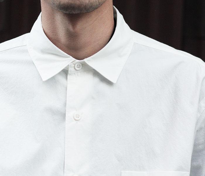 [送料無料]サイ/SCYE 日本製 ペルー産タンボマチャイコットン ビッグシャツ (1118-31081)