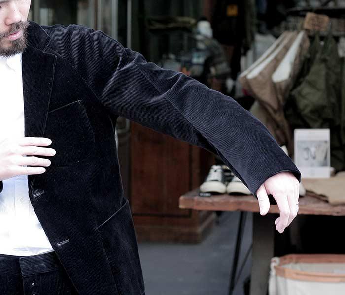 [送料無料]サイ/SCYE 日本製 ドルラグブレザー ジャケット イシスコットンコーデュロイ 2018AW (1118-43018)