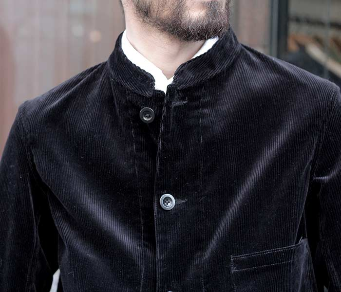 [送料無料]サイ/SCYE 日本製 ワークジャケット ショートジャケット イシスコットンコーデュロイ 2018AW (1118-63010)